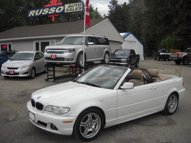 2005 BMW 3 Series 330Ci Convertible RWD