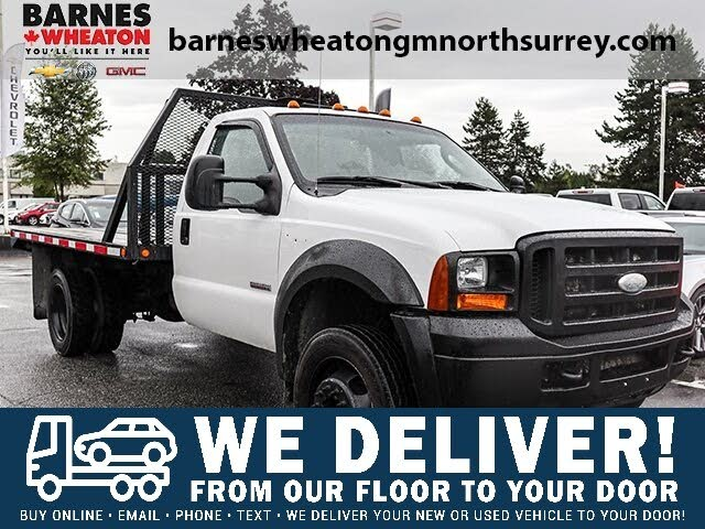 2005 Ford F-550 Super Duty Chassis Crew Cab DRW RWD