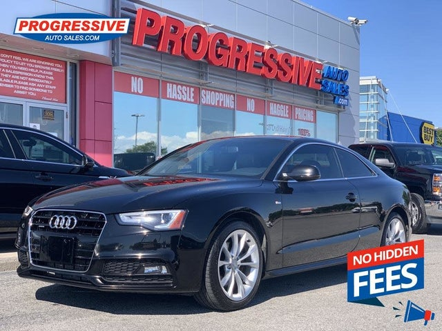 2016 Audi A5 2.0T quattro Komfort Coupe AWD