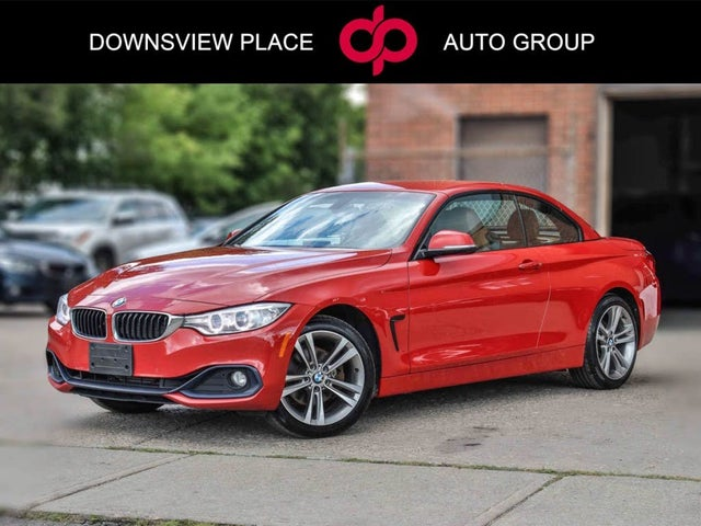 2016 BMW 4 Series 428i xDrive Convertible AWD