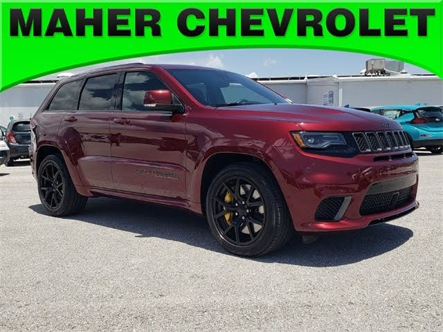 2018 Jeep Grand Cherokee Trackhawk 4wd For Sale In Tampa Fl