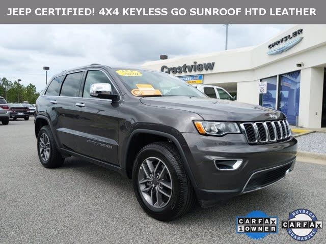 Certified 2020 Jeep Grand Cherokee For Sale Cargurus