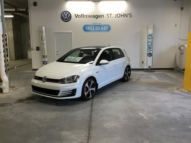 2016 Volkswagen GTI 2.0T Performance 4-Door FWD