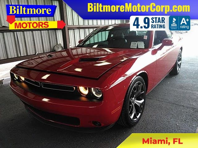 2015 Dodge Challenger SXT Plus RWD