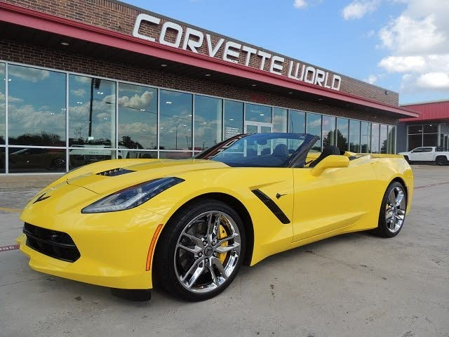 2016 Chevrolet Corvette Stingray Z51 2LT Convertible RWD