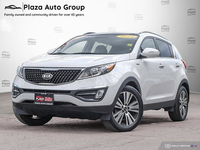2015 Kia Sportage EX Luxury AWD
