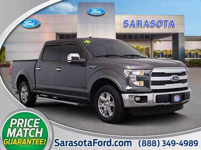 2016 Ford F-150 Lariat SuperCrew