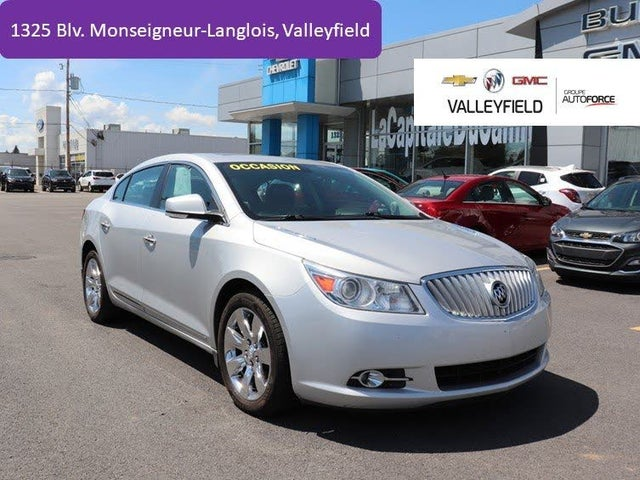 2012 Buick LaCrosse Luxury AWD with Driver Confidence