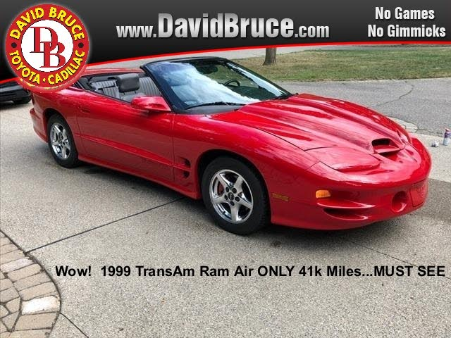 1999 Pontiac Firebird Trans Am Convertible