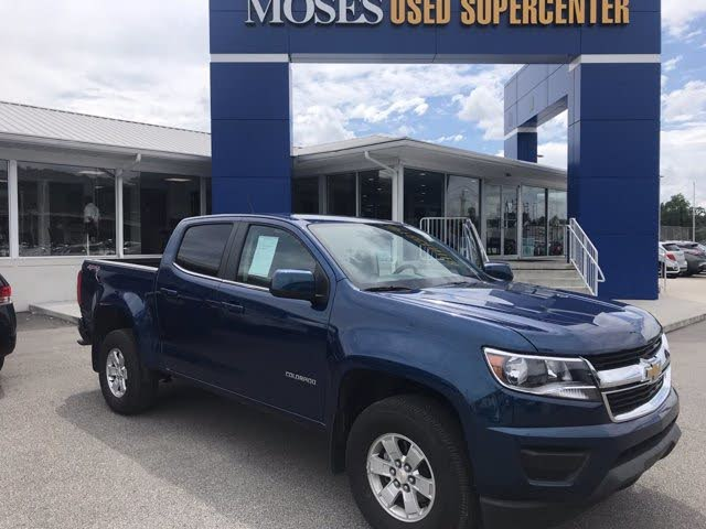 2019 Chevrolet Colorado Work Truck Crew Cab 4WD
