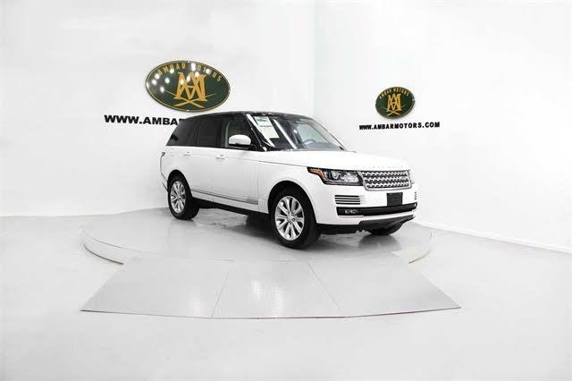 2016 Land Rover Range Rover V6 HSE 4WD