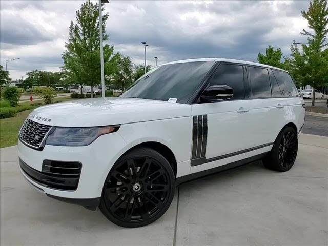 2019 Land Rover Range Rover V8 SVAutobiography Dynamic 4WD