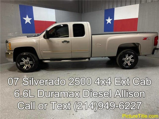 2008 Chevrolet Silverado 2500hd For Sale In Dallas Tx Cargurus