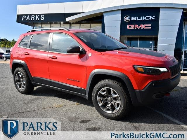 Jeep Cherokee Trailhawk 4wd For Sale In Greenville Sc Cargurus