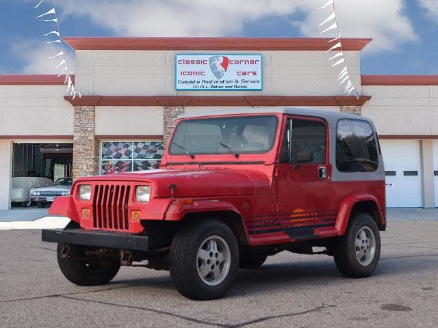 Used 1989 Jeep Wrangler Islander For Sale With Photos Cargurus