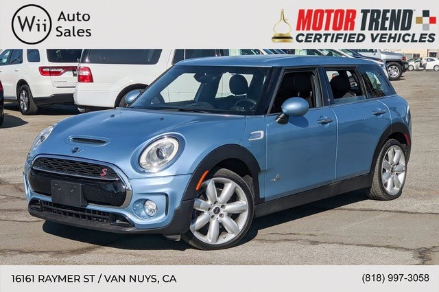 2017 MINI Cooper Clubman S ALL4 AWD