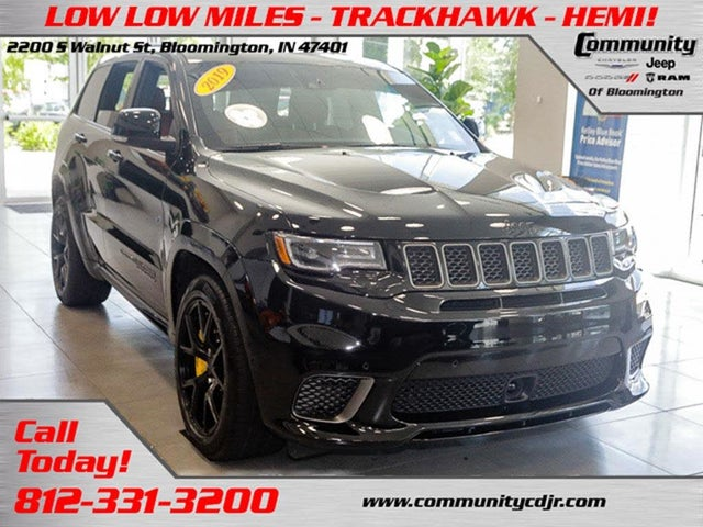 2019 Jeep Grand Cherokee Trackhawk 4wd For Sale In Knoxville Tn