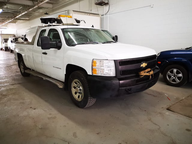 2010 Chevrolet Silverado 1500 Work Truck Extended Cab LB 4WD