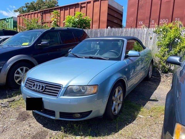 used 2005 audi a4 3 0 quattro cabriolet awd for sale right now cargurus 3 0 quattro cabriolet awd