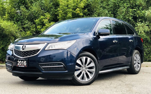 2016 Acura MDX SH-AWD with Technology and Entertainment Package
