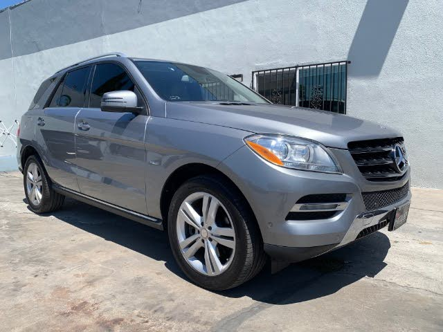 2012 Mercedes-Benz M-Class ML 350 BlueTEC 4MATIC