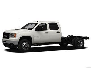 2012 GMC Sierra 3500HD Work Truck Crew Cab 4WD Chassis