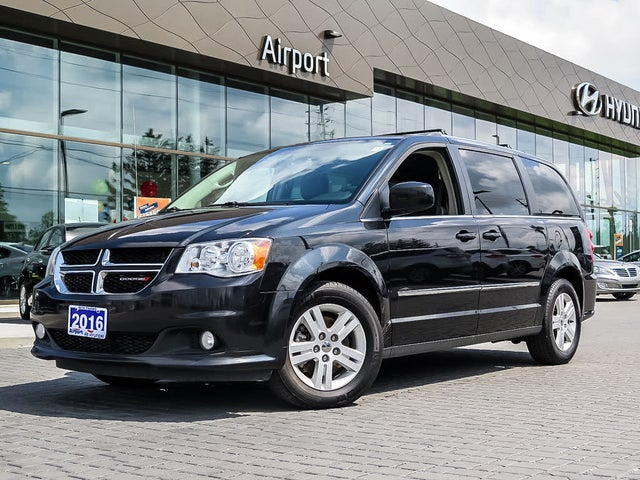 2016 Dodge Grand Caravan Crew Plus FWD