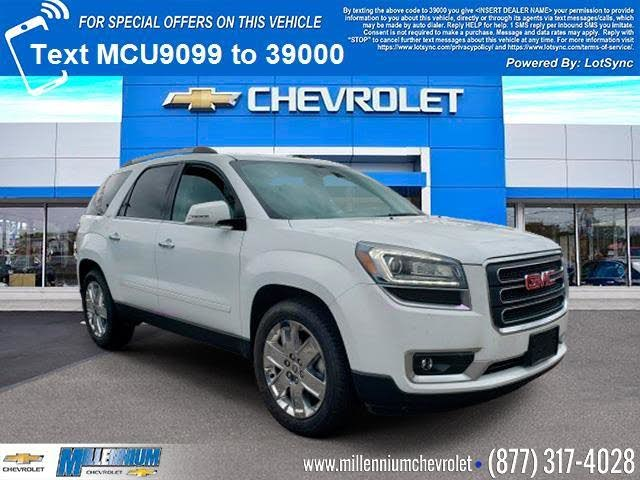 Used 2017 Gmc Acadia For Sale With Photos Cargurus