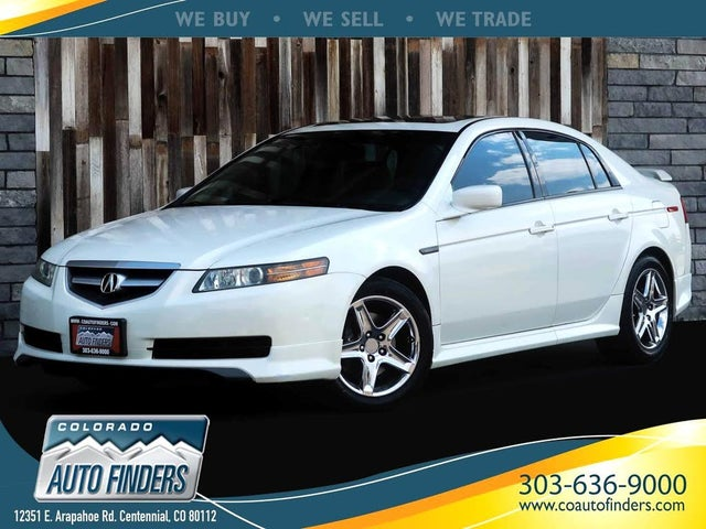 2004 Acura TL FWD with Performance Tires and Navigation
