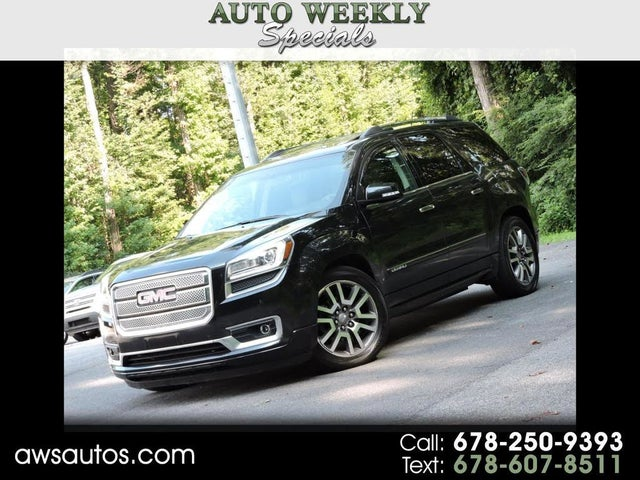 Used Gmc Acadia For Sale In Atlanta Ga Cargurus