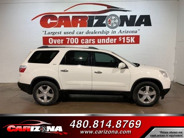 Used Gmc Acadia For Sale In Chandler Az Cargurus