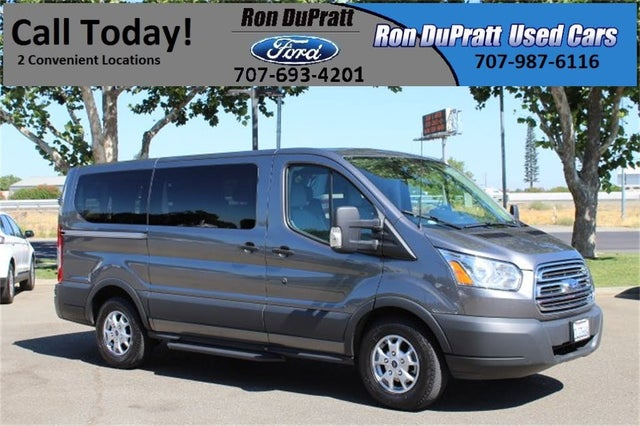 2015 Ford Transit Passenger 150 XLT Low Roof RWD with Sliding Passenger-Side Door