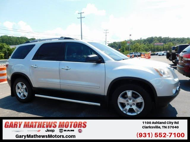 Used Gmc Acadia For Sale In Paducah Ky Cargurus