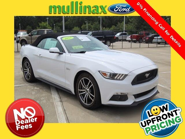 2017 Ford Mustang GT Premium Convertible RWD