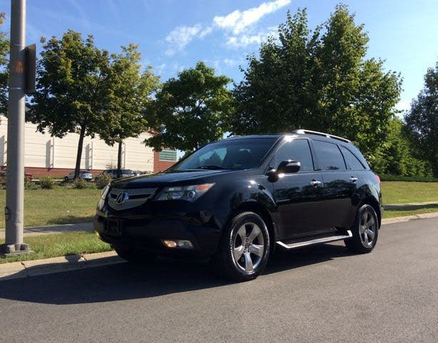 2008 Acura MDX SH-AWD with Power Tailgate and Sport Package