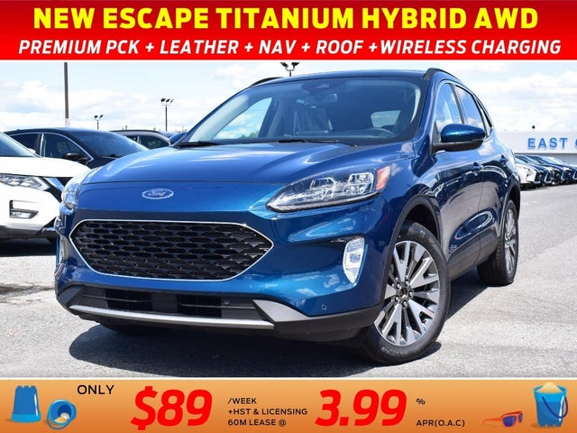2020 Ford Escape Hybrid Titanium AWD