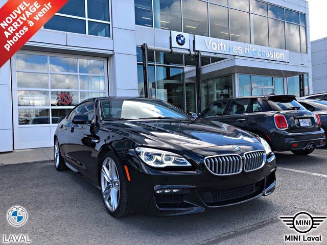 2017 BMW 6 Series 650i xDrive Gran Coupe AWD