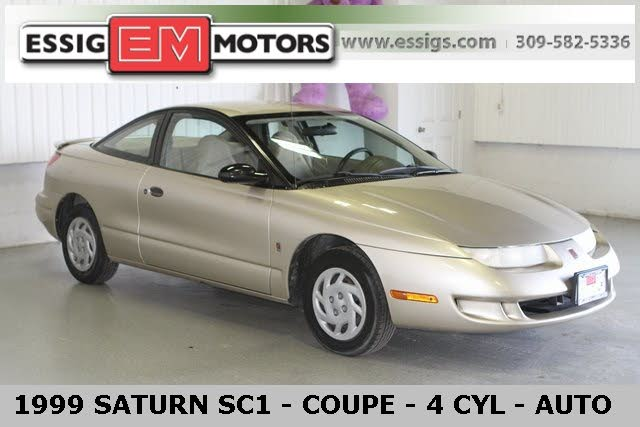 1999 Saturn S-Series 3 Dr SC1 Coupe