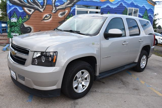Used Chevrolet Tahoe Hybrid 4wd For Sale With Photos Cargurus