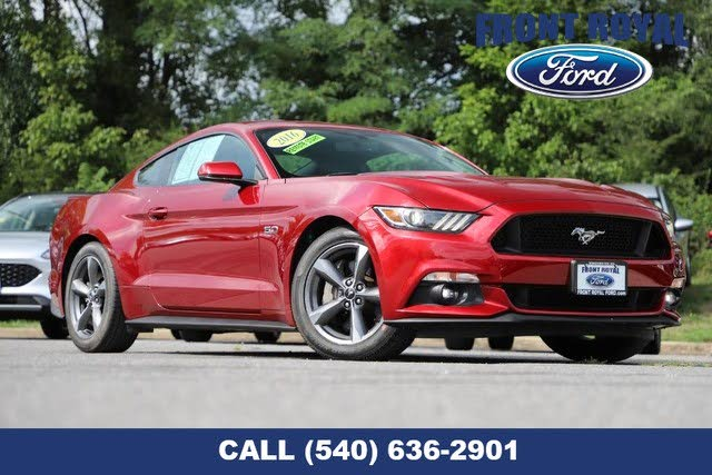 2016 Ford Mustang GT Premium Coupe RWD