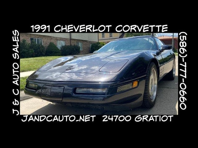 1991 Chevrolet Corvette Coupe RWD