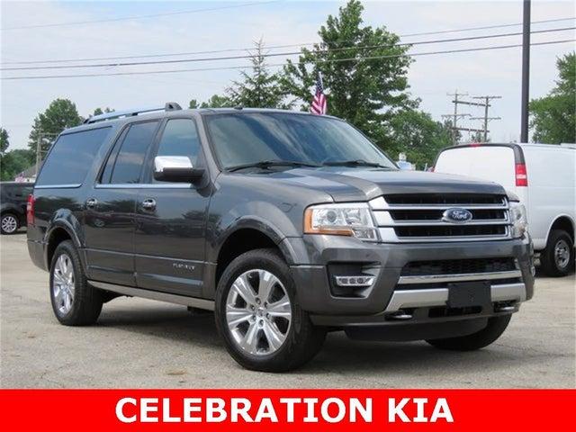 2016 Ford Expedition EL Platinum 4WD