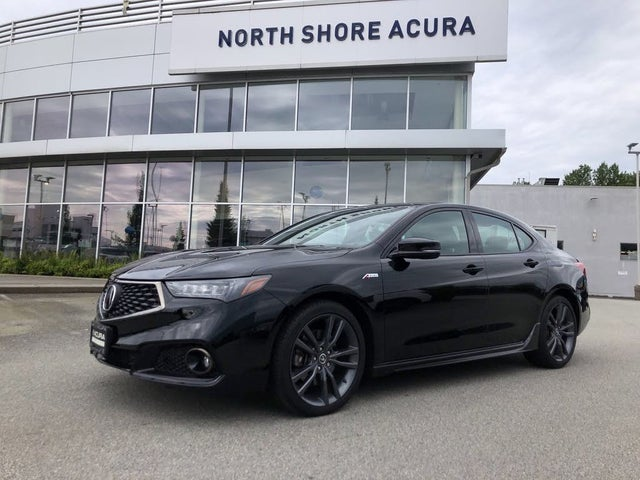 2018 Acura TLX V6 SH-AWD with Elite and A-Spec Package
