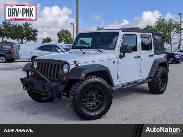2012 Jeep Wrangler Unlimited Sport 4WD 4WD