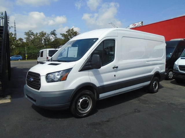 2018 Ford Transit Cargo 250 3dr LWB Medium Roof Cargo Van with Sliding Passenger Side Door
