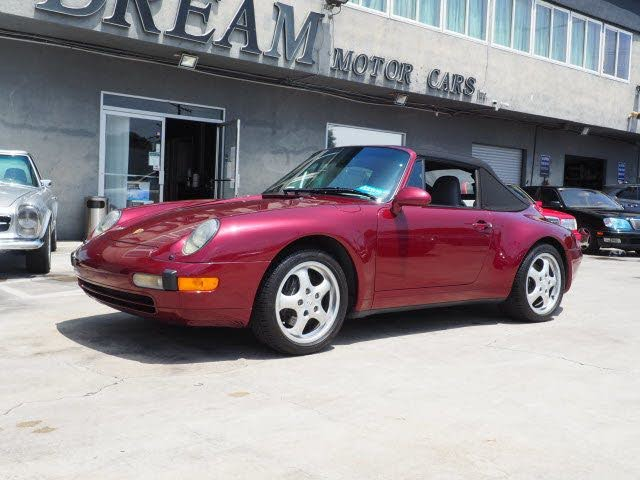 1996 Porsche 911 Carrera Convertible