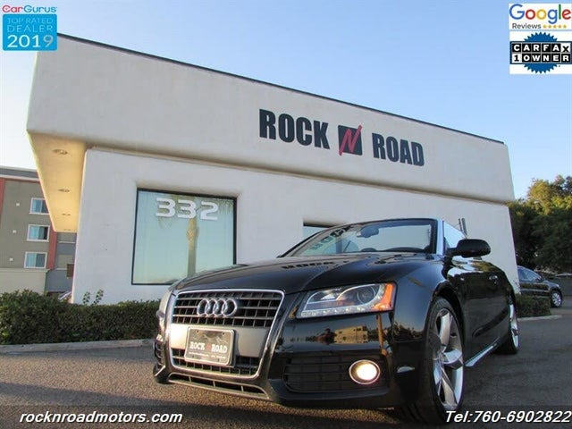2011 Audi A5 2.0T Prestige Cabriolet FWD