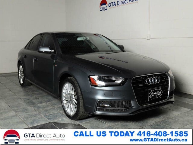 2016 Audi A4 2.0T quattro Komfort Plus Sedan AWD