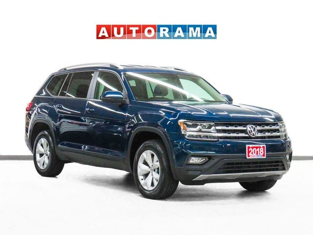 2018 Volkswagen Atlas 3.6L Highline 4Motion with R-Line