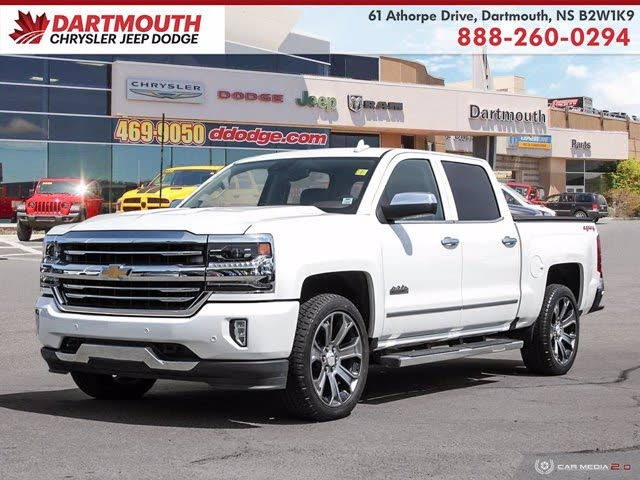 2016 Chevrolet Silverado 1500 High Country Crew Cab 4WD
